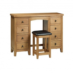 Addison Twin Pedestal Dressing Table